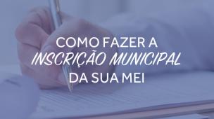 inscricao municipal MEI