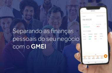 Separando as finanças pessoais do seu negócio com o GMEI