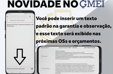 Novidades do GMEI v1.4.1