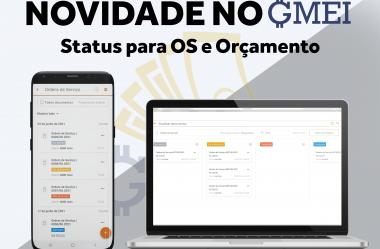 Novidade no GMEI – Gestão das OS e Orçamentos por Status